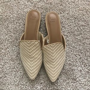 Target - A New Day Rachel Mules in Tan